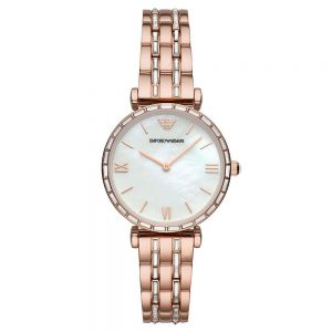 Drakes Jewellers Plymouth, Emporio Armani Watches, Gift For Her, Rose Gold Plated Watch