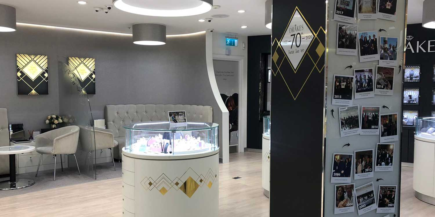 Drakes Jewellers, Diamond and Bridal Lounge