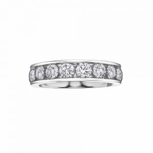 Channel Set Eternity Ring, Diamond Ring, Drakes Jewellers, Plymouth, White Gold Eternity Ring