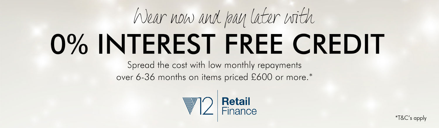 Interest free credit, Drakes Jewellers, Plymouth
