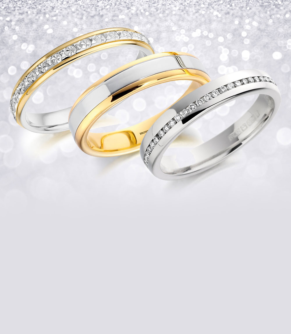 wedding rings for him, wedding rings
