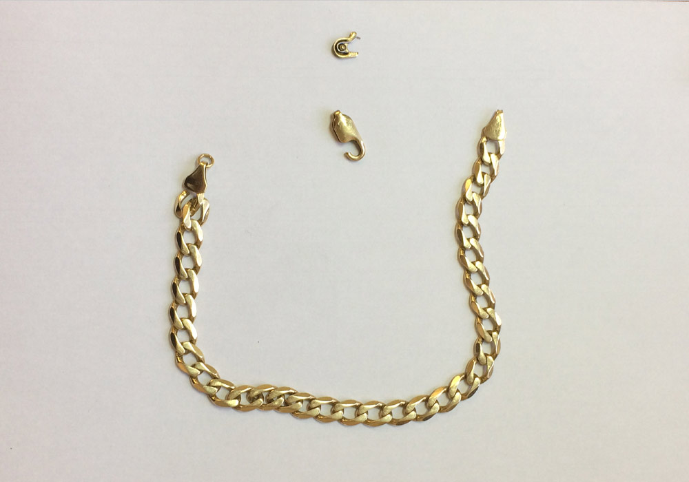 Yellow Gold Broken Chain, Drakes Jewellers, Plymouth
