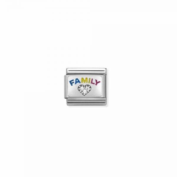 Family Nomination Link Charm, Nomination Links, Nomination Italy, Nomination Plymouth