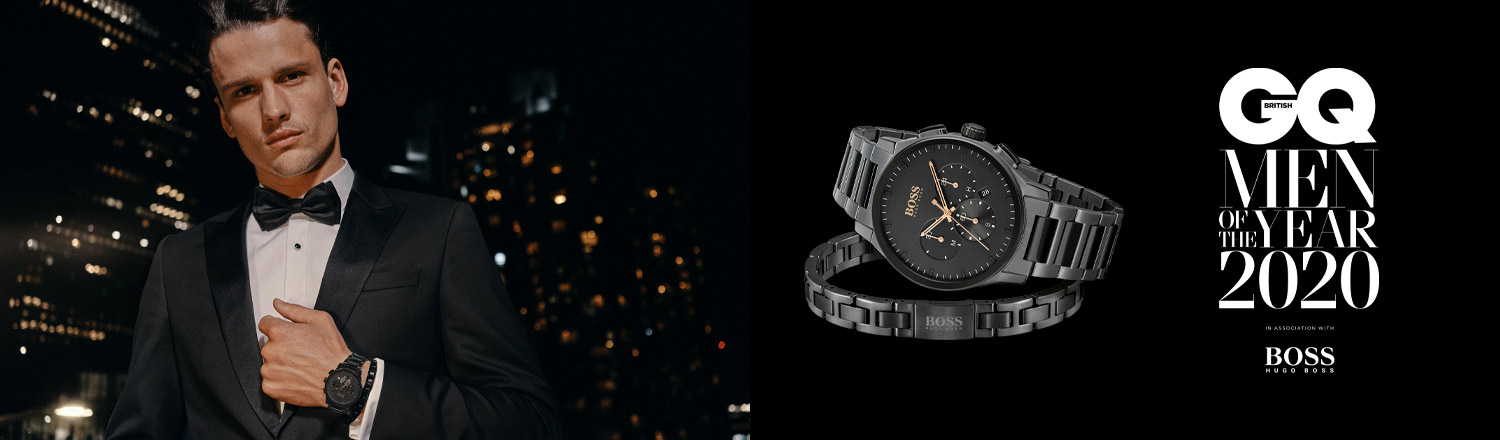 Hugo Boss, GQ Man of the Year , GQ, Watches, Plymouth, Watch, Timepiece, Hugo Boss Watches
