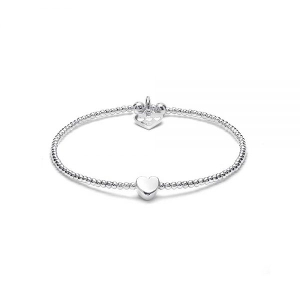 Sterling Silver Bracelet with boxed heart, Annie Haak, Drakes Jewellers, Plymouth