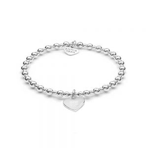 Silver Charm Bracelet with Best Mum Charm, Annie Haak Stockists, Jewellers Plymouth