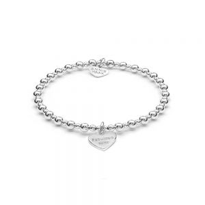 Silver Charm Bracelet with 'Fabulous Wife' charm, Drakes Jewellers, Annie Haak Jewellery