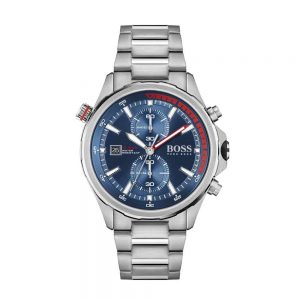 Globetrotter Chronograph Men's Watch, Drakes Jewellers, Boss Watches Plymouth,