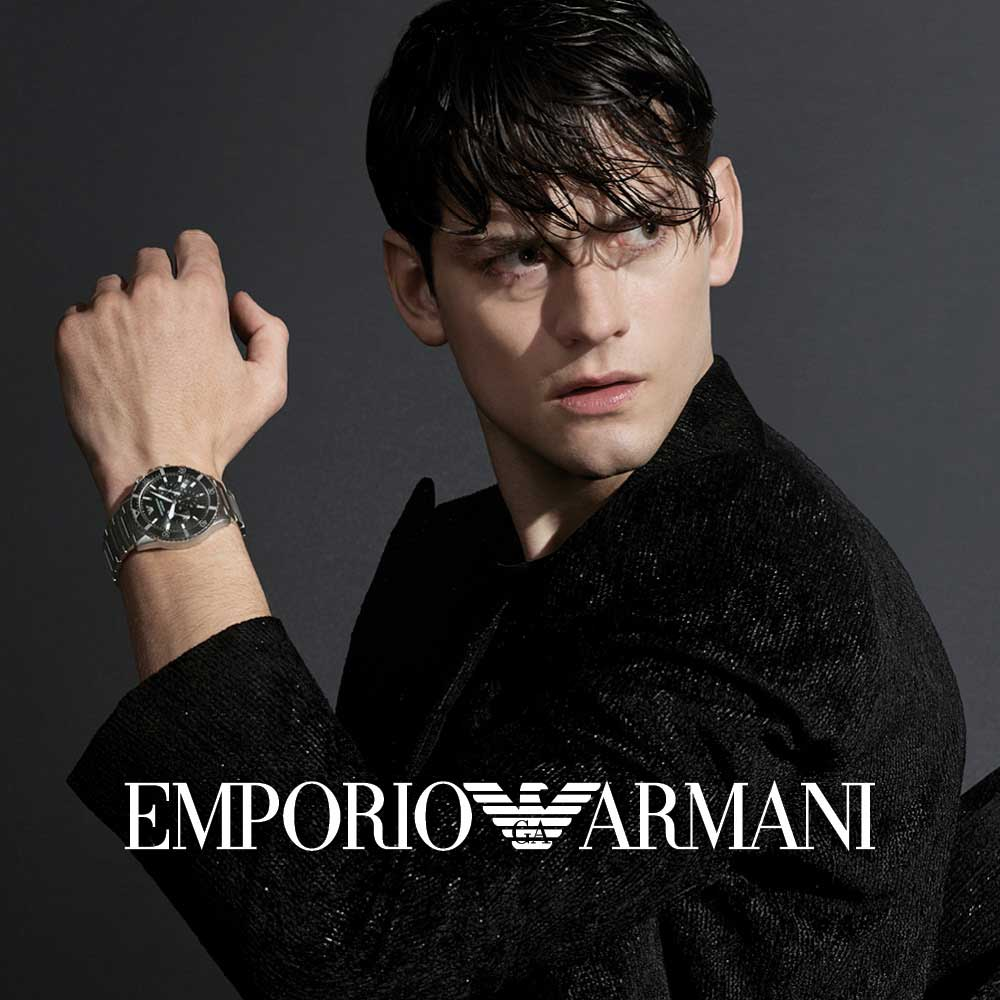Emporio Armani, Drakes Jewellers, Plymouth, Watches